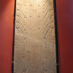 Mon, 06/30/2014 - 4:12pm - Stela Raimondi, a 7-ft tall, polished granite panel with engraved surface (Chavin culture)