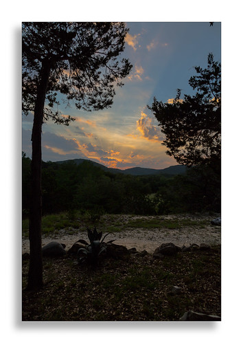 sunset texas unitedstates hillcountry casita casitas pipecreek casitasatmadronaranch