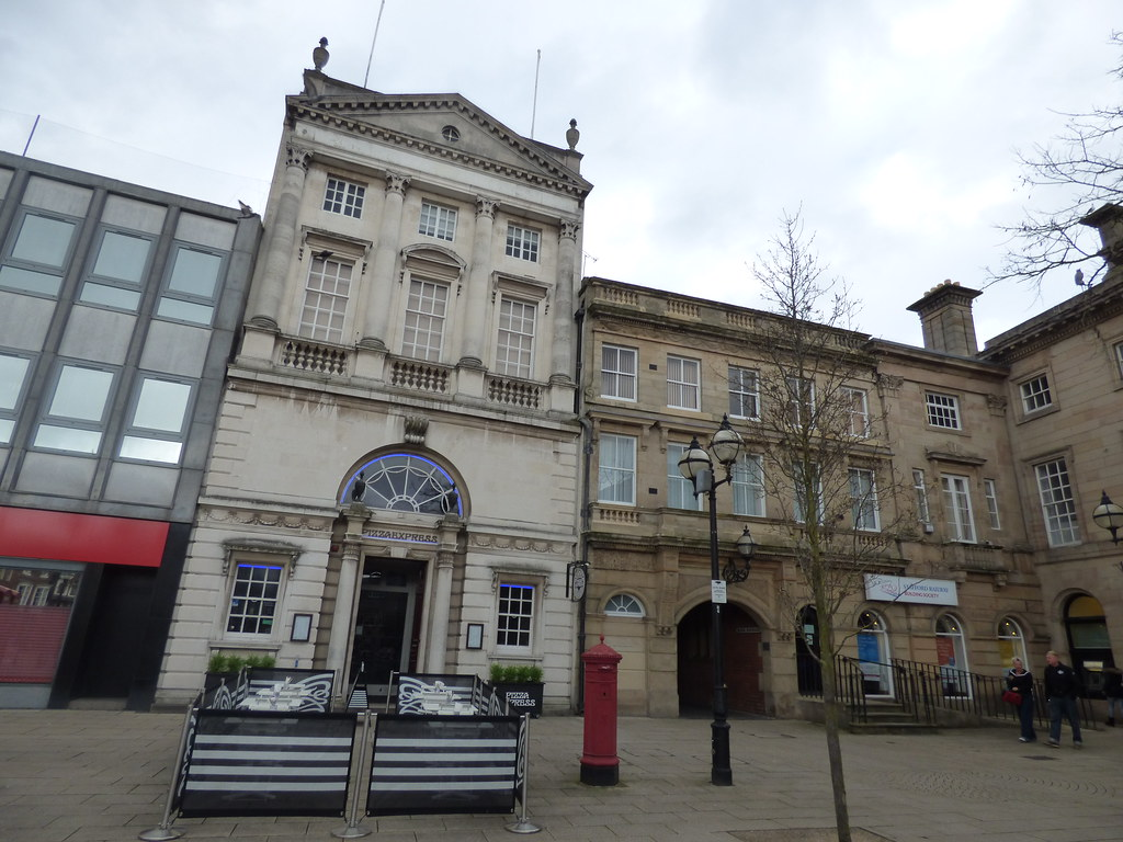 Pizza Express And Stafford Railway Building Society Mark