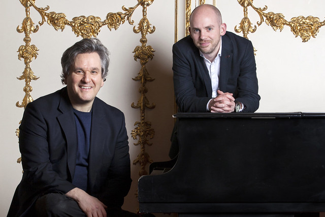 Director of Music Antonio Pappano and Director of Opera Oliver Mears, The Royal Opera © Rii Schroeder