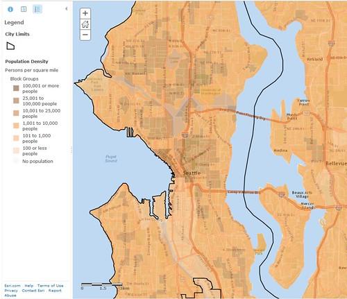 Seattle Population Densityre