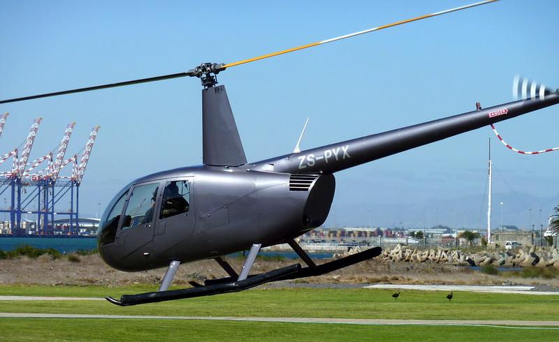 Robinson R44 Raven II ZS-PYX
