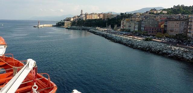 Korsika , mit der Fähre nach Bastia, 11002/3318