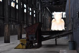Kara Walker's Subtlety installation at the Domino Sugar Factory | by hragv