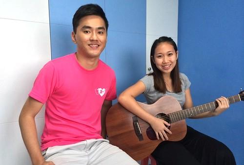 Beginner guitar lessons Singapore Amelia