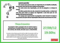5.ª Questão Theo Craveiro - 27-09-2012