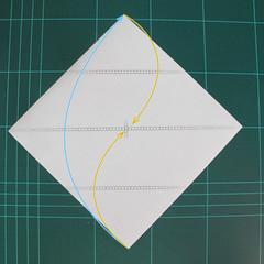 การพับกระดาษเป็นรูปเรือเรือสำปั้น (Origami Sampan) 001