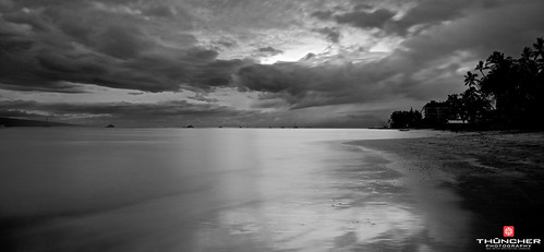 longexposure bw beach nature monochrome outdoors island hawaii blackwhite nikon scenic maui tropical fullframe fx lahaina frontstreet d800 waterscape landcsape nikond800 leebigstopper nikkorafs1635mmf4gedvrfx