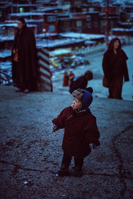 a boy @ monastery