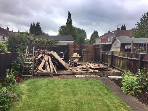 Garage demolished | by Lewis Craik