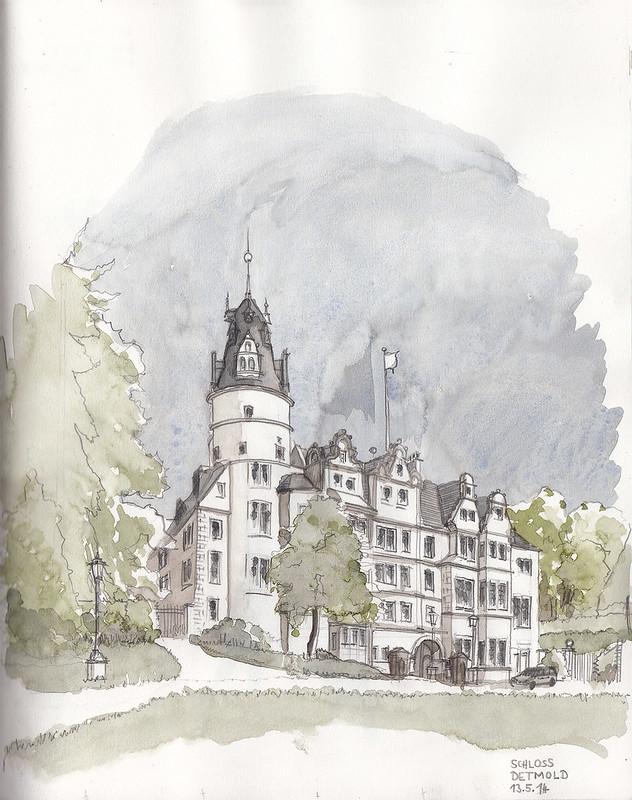 Detmold Castle