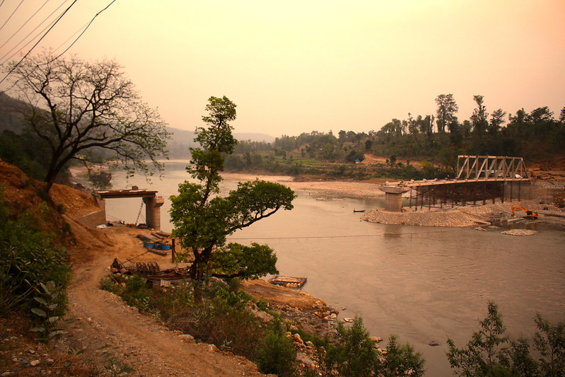 Faced with growing flood risk, Nepal builds climate threats
