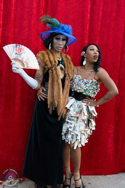 St. Louis Burlesque Divas, Maxi Glamour & Foxy La Feelion