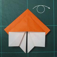 วิธีพับกระดาษเป็นที่คั่นหนังสือรูปผีเสื้อ (Origami Butterfly Bookmark) 023