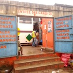 Gare UTB, Abidjan, Côte d'Ivoire.