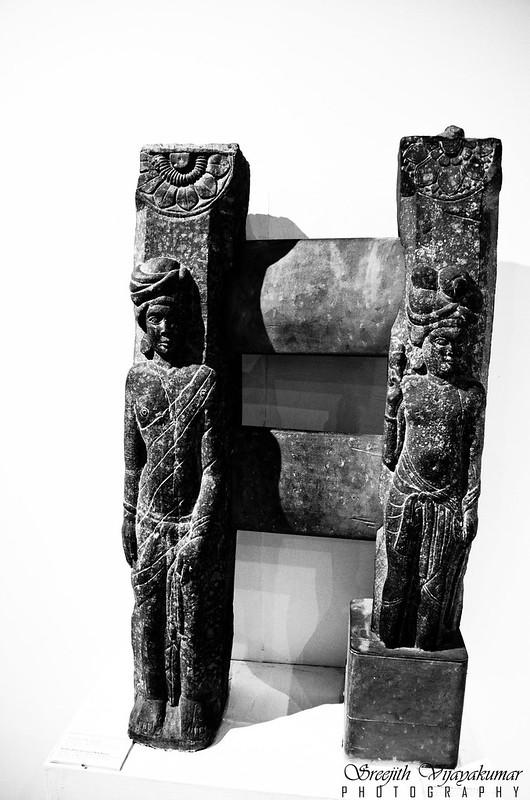 Railing Pillar showing a male Figure,National Museum, New Delhi