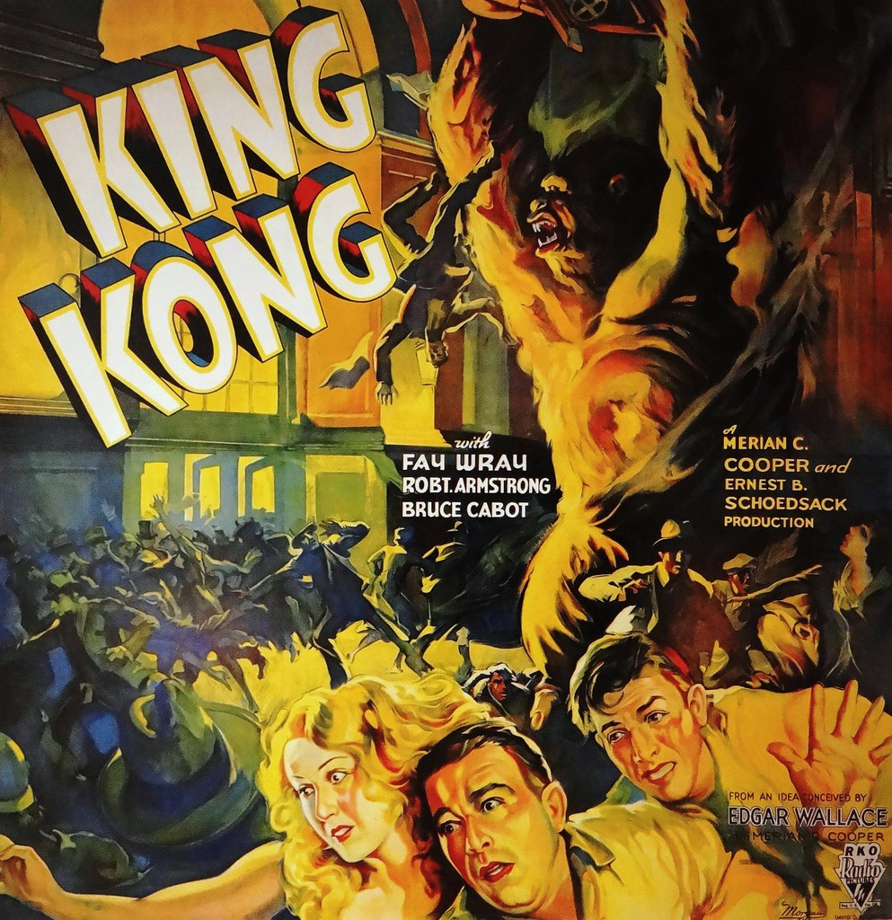 King Kong Rko 1933 Movie Poster A New Look And Sound F