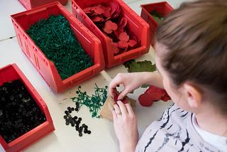 The Royal British Legion Poppy Factory   by usembassylondon