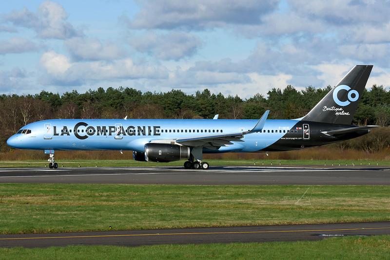 F-HCIE | Boeing 757-204(WL) | La Compagnie