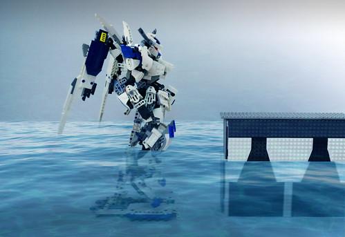 LEGO Gundam Bael ASW-G-01 1/60 (pts just for fun) | by demon1408