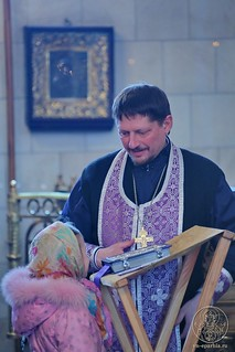 Литургия в Покровском соборе 107