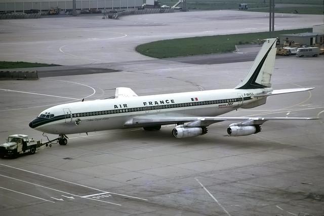 Boeing 707-328 F-BHSS Orly 3-6-71