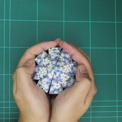 วิธีทำโมเดลกระดาษสำหรับตกแต่งทรงเรขาคณิต (Decor Geometry Papercraft Model) 011