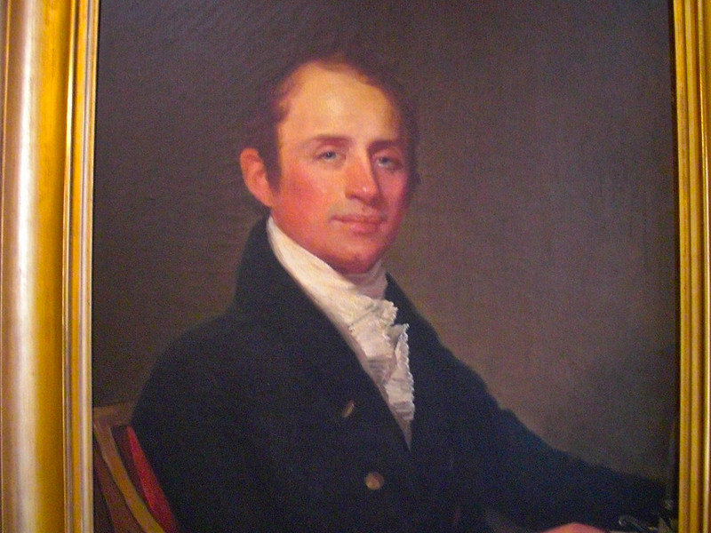 26_Gilbert Stuart is commissioned to paint his own portrait