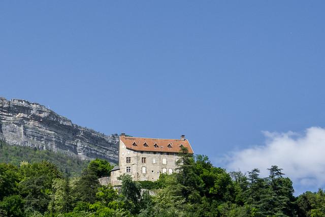 Château (XIIe au XVIIIe s.) de Bouquéron, Corenc (Isère, France)