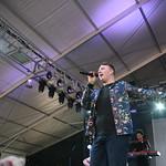 Fri, 13/06/2014 - 3:50pm - Big vocal skills. Super-fun. Team FUV at Bonnaroo. Phoro by Laura Fedele