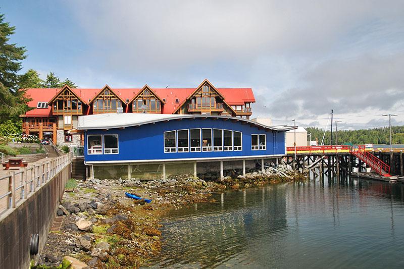 Ucluelet Aquarium in Ucluelet, West Coast Vancouver Island, British Columbia