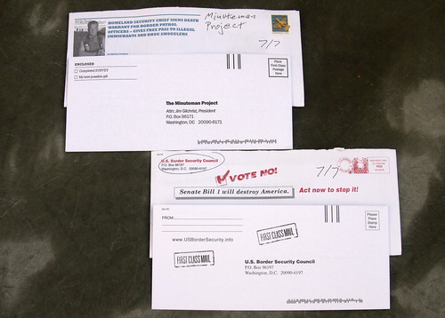 Border junk mail | by Judith E. Bell