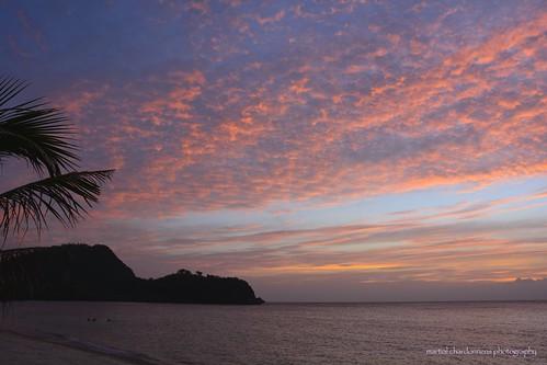 sunset island couleurs philippines tablas iles binukot