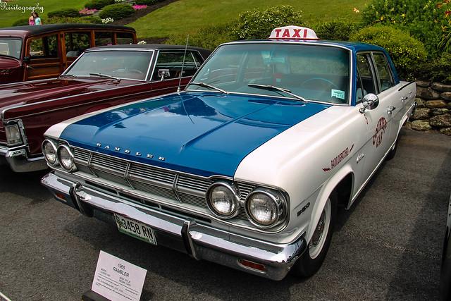 1965 Rambler Classic 550 Sedan Taxi