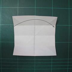 วิธีพับกระดาษเป็นที่คั่นหนังสือรูปผีเสื้อ (Origami Butterfly Bookmark) 003
