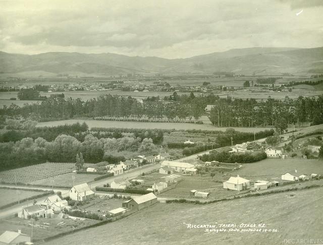Riccarton, Taieri Plains 1926