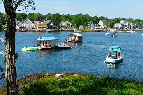 Mahone Bay from across the water   by Craig James White