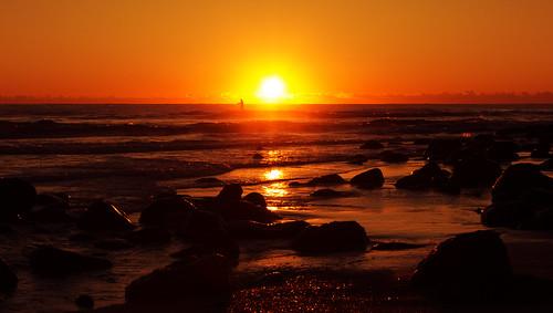 sunset sunrise australia burleighheads allieca