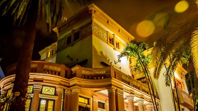 Nocturna a pelo. Casas Coloniales en Santa Cruz de Tenerife