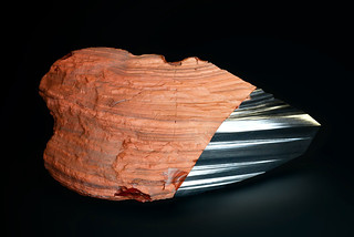 Peugeot-Design-Lab-Onyx-Sculpture-Red-Ferrous-Jasper-&-Steel-001