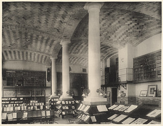 Periodical room. | by Boston Public Library