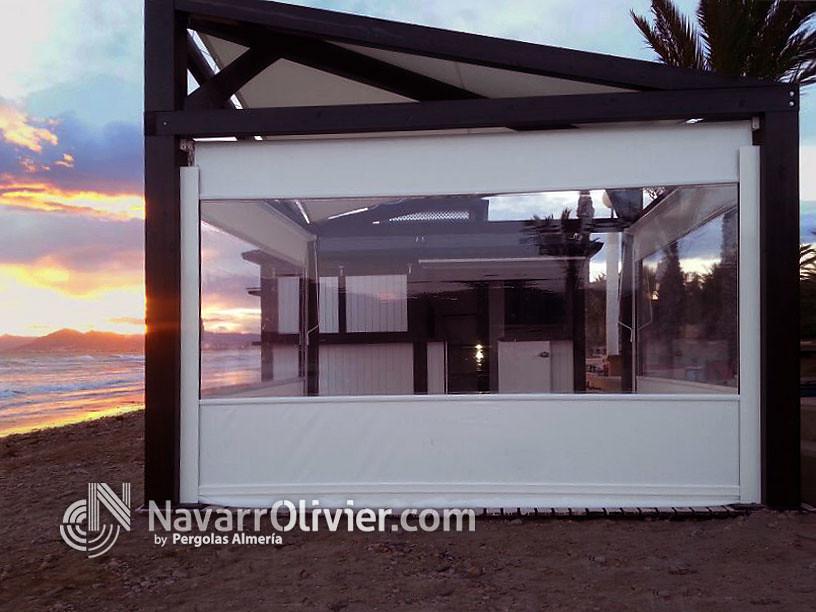 Pergola Bongora Beach Bar Pérgola Desmontable Para Terraza