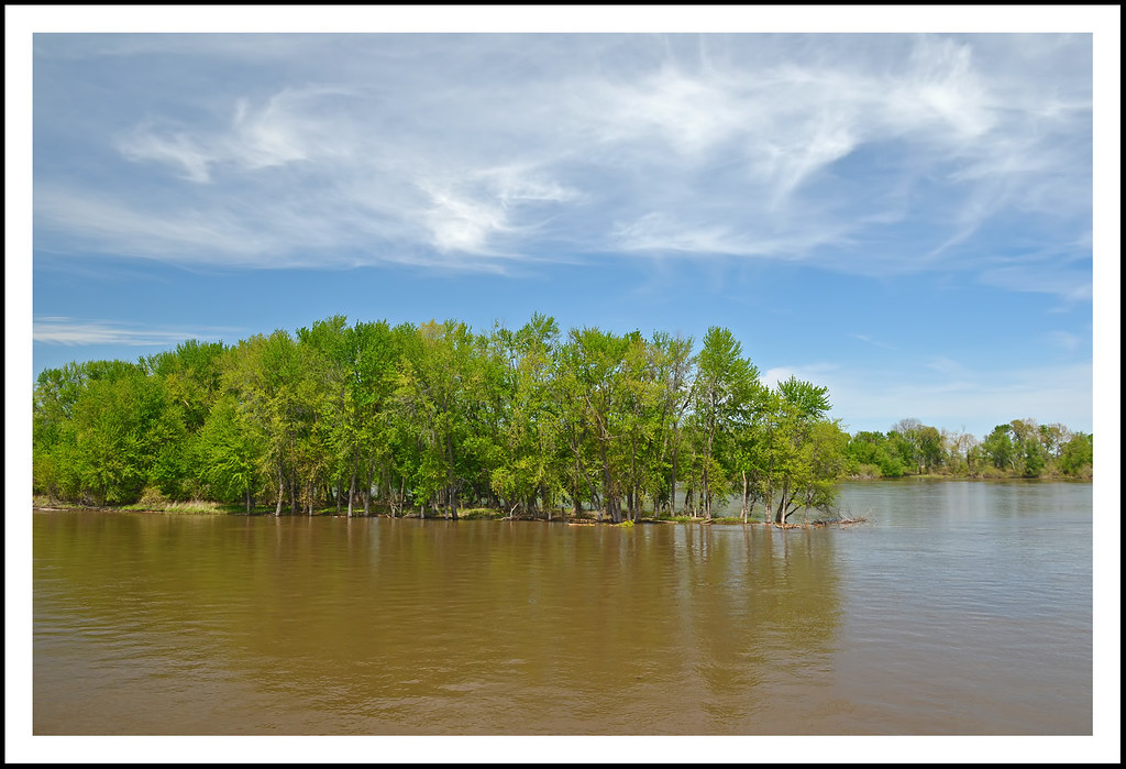 Mississippi River and Jackson's Island | I made a wonderful