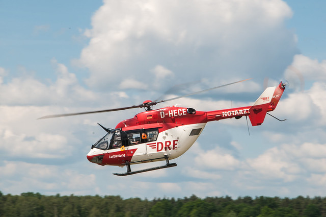 DRF Luftrettung HSD D-HECE