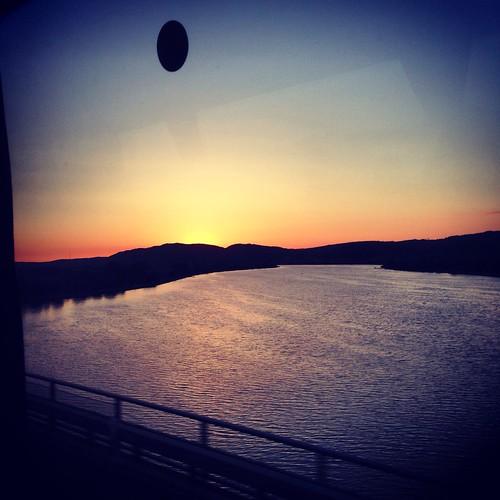 sunset sun river germany view danube followme wiesent