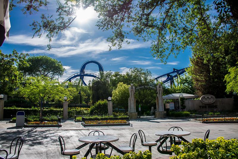 Batman Ride Roller Coaster