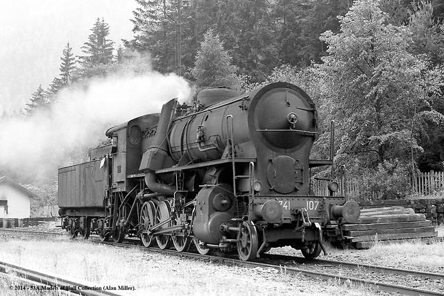 26/06/1974 - FS depot at Fortezza / Franzensfeste, South Tyrol, Italy.