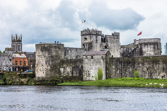 KING JOHN'S CASTLE - IMAGES FROM THE STREETS OF LIMERICK