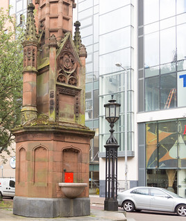 The Thomas Thompson Memorial Fountain - Bedford Street In Belfast | by infomatique