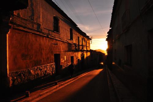 sunset landscape atardecer nikon bolivia paisaje potosi d90